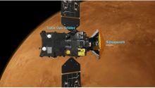 ExoMars : GTO, Schiaparelli et leurs différents instruments (Credit:  ESA/Medialab)
